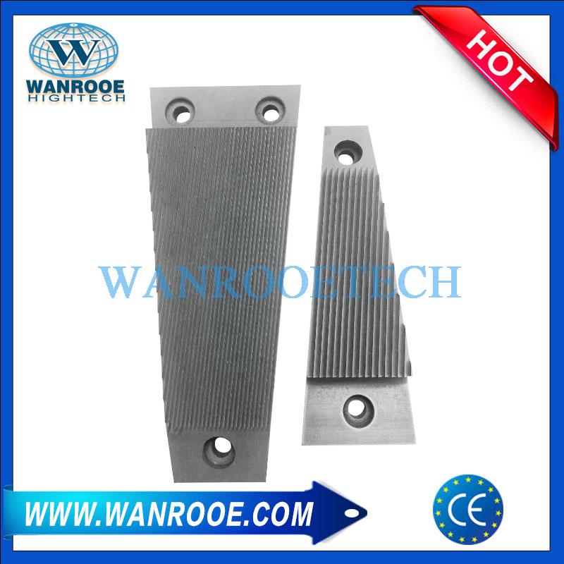 pulverizer segment blade, pulverizer blade, pvc pulverizer blade, pmma pulverizer blade, pp pulverizer blade, abs pulverizer blade