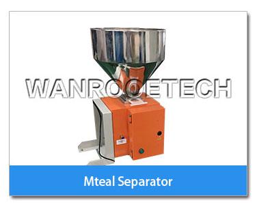 Metal separator, Metal detector, Metal separating plant, Pulverizer metal separator
