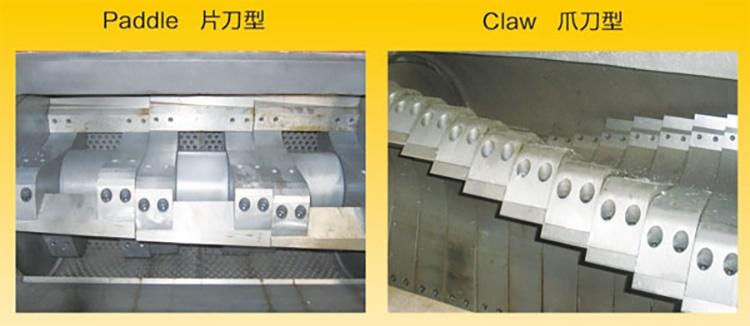 Plastic Crusher Granulator Grinder Blades Knives