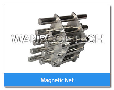 Magnetic filter frame net for plastic pulverizer or mill,Steel Separated Magnetic Net,Magnetic filter frame,Steel Separated Magnetic filter
